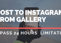 Upload Photo From Camera Roll To Instagram Story After 24 hours