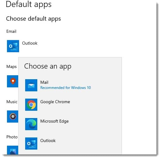 selecting-default-mail-app
