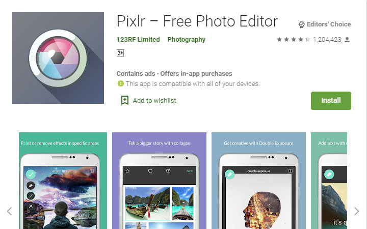 pixlr-android-photo-editing-apps