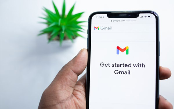 organize a gmail account